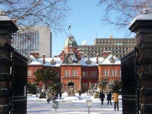 写真 1 北海道庁旧本庁舎「赤れんが庁舎」